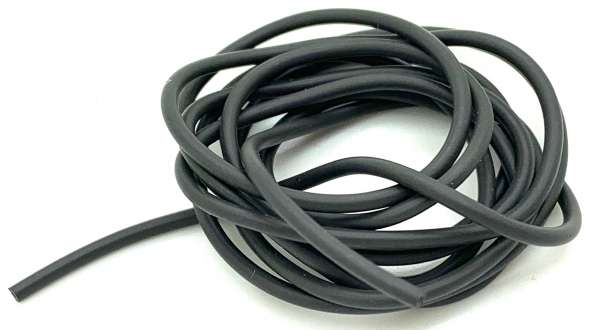 Tungsten Tubing Black 2/1mm