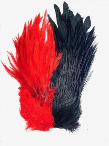 Rooster Necks -Red/Black-