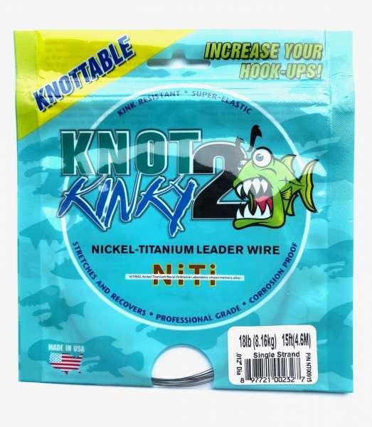 Knot 2 Kinky Nickel Titanium Leader Wire
