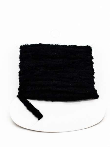 Rayon Chenille Black