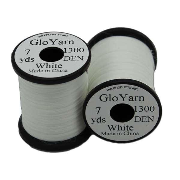 Uni Glo Yarn White