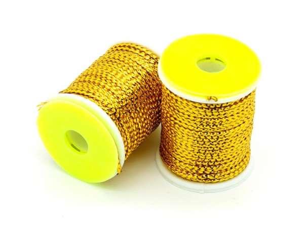 Flyonly Metallic Round Braid Gold